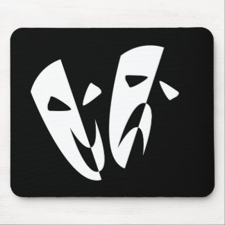 Stage Masks Mouse Pad