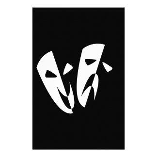 Stage Masks Stationery