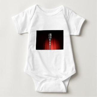 Stage Microphone Baby Bodysuit