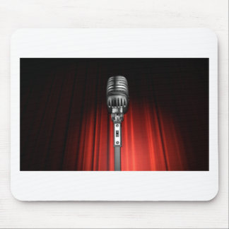 Stage Microphone Mouse Pad