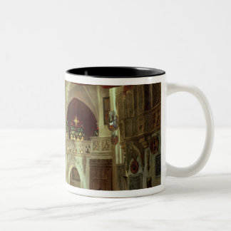 Stage model for the opera coffee mugs