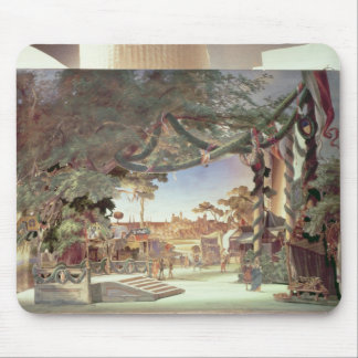 Stage model for the opera 'Die Meistersinger Mouse Pad