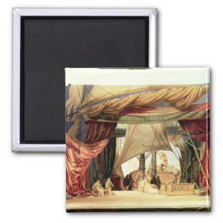 Stage model for the opera Tristan and Isolde Fridge Magnet
