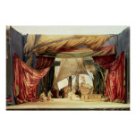 Stage model for the opera 'Tristan and Isolde' Poster