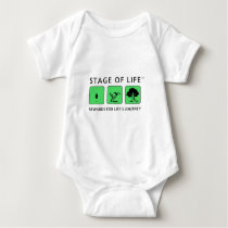Stage of Life Logo Products Baby Bodysuit