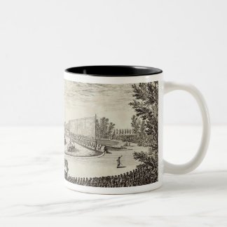 Stage on the Large Pond representing Two-Tone Coffee Mug