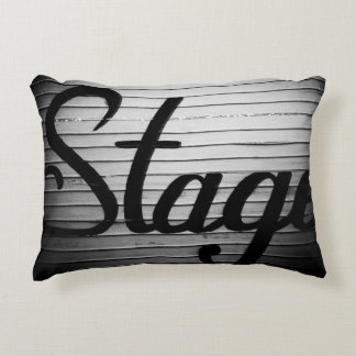 """Stage"" Photograph Accent Pillow"