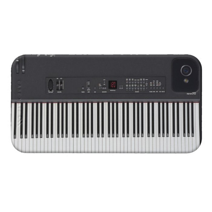 Stage Piano Case-Mate iPhone 4 Case