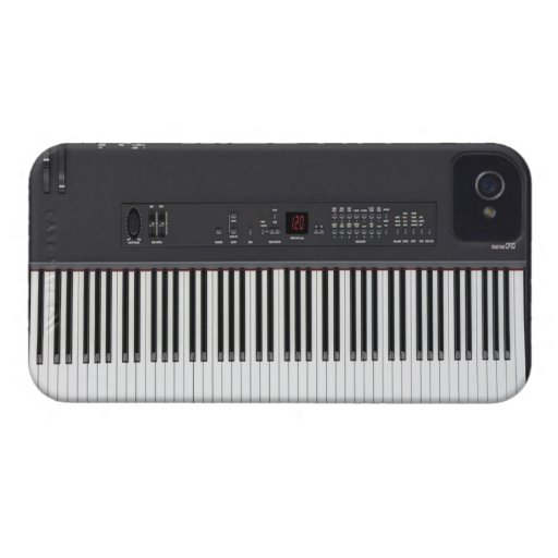 Stage Piano iPhone 4 Case-Mate Case