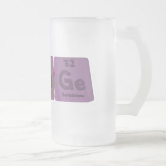 Stage-S-Ta-Ge-Sulfur-Tantalum-Germanium.png Frosted Glass Beer Mug