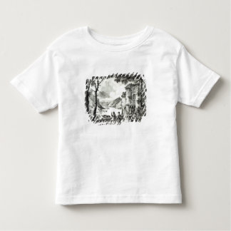 Stage set for Act III of 'Le Chateau Loch-Leven' Toddler T-shirt