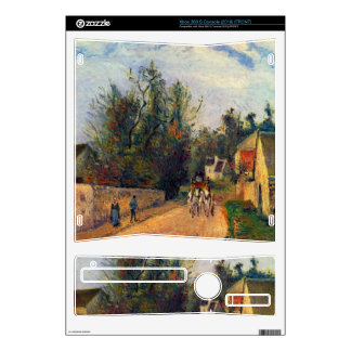 Stagecoach after Ennery by Camille Pissarro Xbox 360 S Decal