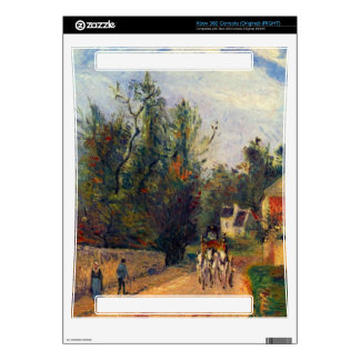 Stagecoach after Ennery by Camille Pissarro Decal For The Xbox 360