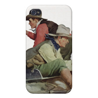 Stagecoach Attack iPhone Speck Case