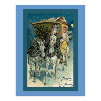 """Stagecoach Christmas"" Christmas Card Postcards"