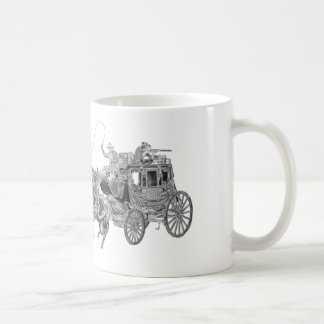 STAGECOACH CHROMED COFFEE MUG