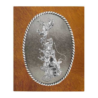 STAGECOACH CHROMED METAL PRINT