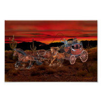 STAGECOACH COWBOYS POSTER