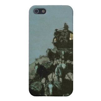 Stagecoach in the Night  Case For iPhone SE/5/5s