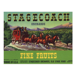 Stagecoach Post Cards