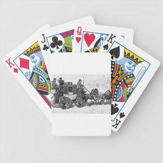 stagecoach-travel-3A stage coach-Baldwin's Reader. Bicycle Playing Cards