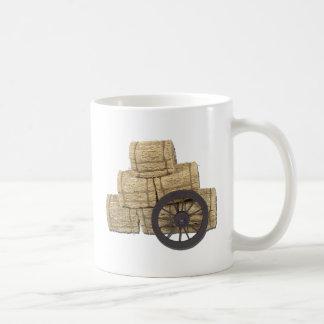 StagecoachWheelBalesHay112611 Coffee Mug