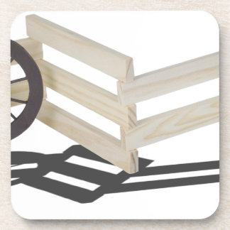 StageCoachWheelsWoodenFence062115 Drink Coaster