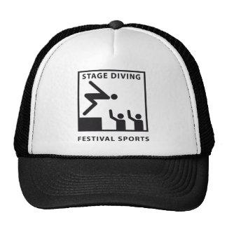 stagediving pikto trucker hat
