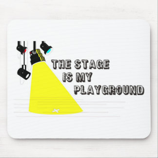 StageIsMyPlayground Mouse Pad