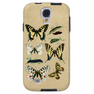 Stages in the Life of Butterflies Galaxy S4 Case