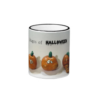 Stages of Halloween Ringer Coffee Mug