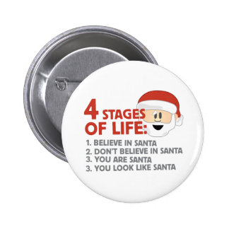 Stages of Life Pinback Button