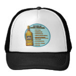 Stages of Tequila Mesh Hats