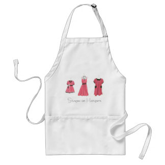 Stages on Hangers Adult Apron
