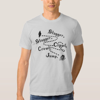stagger stagger crawl crawl shirt