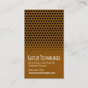 Hi tech business cards templates zazzle staggered squares hi tech technology computer business card colourmoves