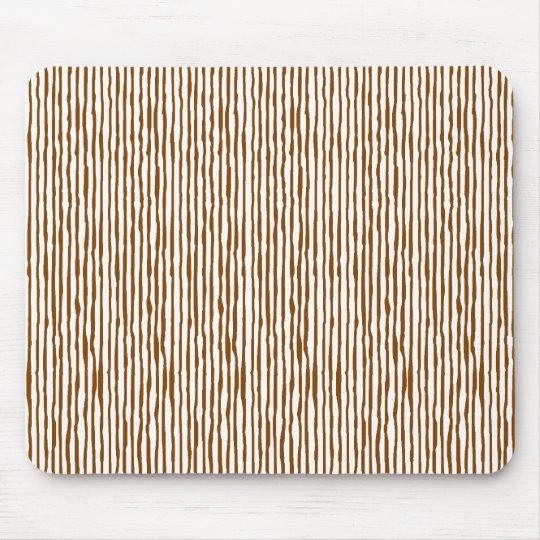 Staggering stripe (brown) mouse pad