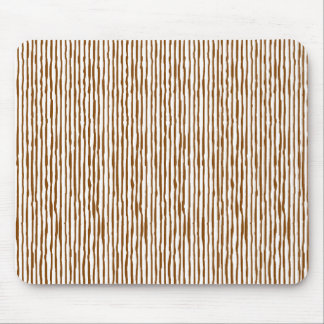 Staggering stripe (brown) mousepad