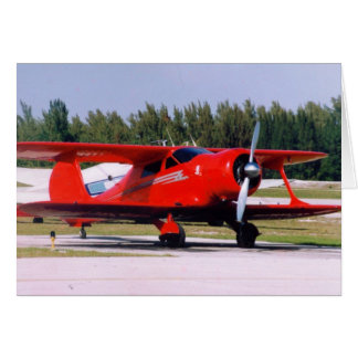 Staggerwing Beech Card