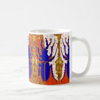 Staghorn Beetle Twins Gold Gifts Coffee Mug
