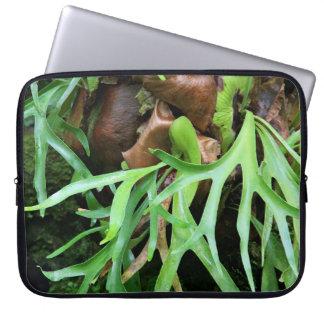 Staghorn Fern Neoprene Laptop Sleeve