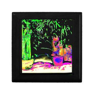 Staghorn Ferns GO GREEN jGibney The MUSEUM Zazzle Jewelry Box