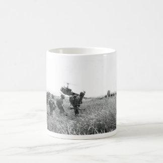 Staging an air assault 4 coffee mug