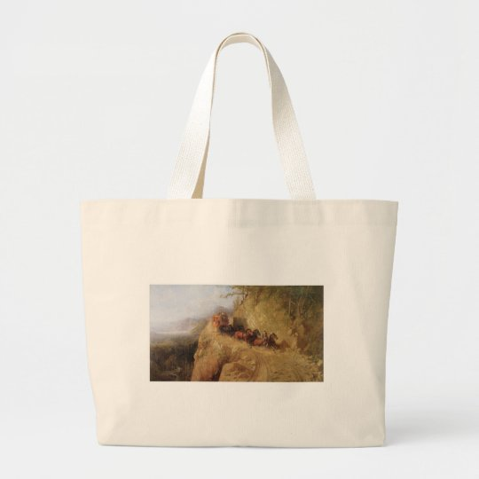 Staging In California Large Tote Bag