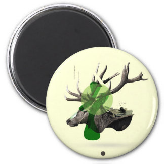 Stagment National Trust 2 Inch Round Magnet