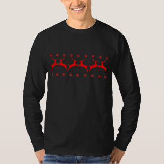 Stags and Snow Flakes T-Shirt