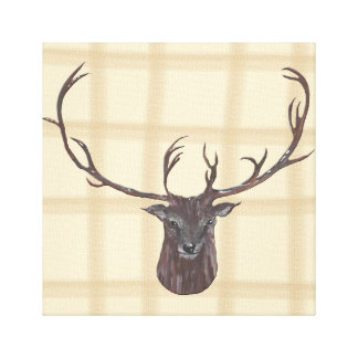 Stag's Head canvas