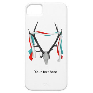 Stags Head With Antlers iPhone SE/5/5s Case