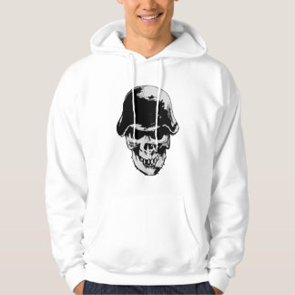Stahlhelm Skull Hoodie