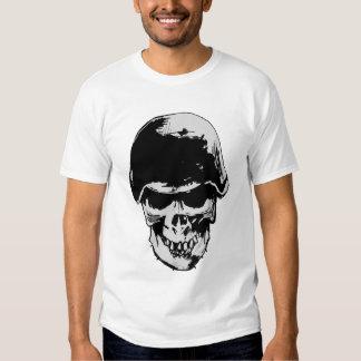 stahlhelm skull t shirt